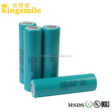 Cylindrical 18650 samsung 15K 1500mah 15A 3.6V 18650 flat top li-ion battery