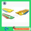 Inflatable water games flyfish banana boat banana shaped boat for sale