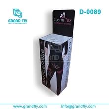 Stockings dump bins corrugated cardboard display case