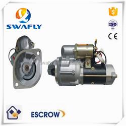 Factory Price 6D34 Starter Motor For SK200-6 SK200-6E HD820 Excavator , 24V 11T 5.0KW , M008T97171