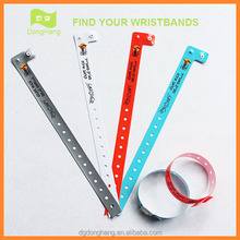 Plastic Cheap Printed Custom Event Wristbands