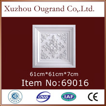 60x60 mineral pvc pu foam ceiling tiles