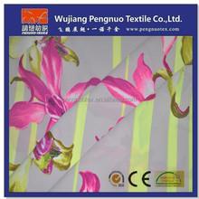 floral printed silk georgette fabric