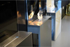 Fashion true fire wall deco fireplace safer than gas fireplace