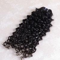 Wholesale Unprocessed three bundles 14 inches top grade 5a peruvian Italian curl hair