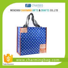 Customized elegant design Europian style non woven tote bag fashion women shopping bag