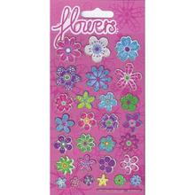 Adesivo scintillio fiore, adesivo pacco, mega adesivo fiore