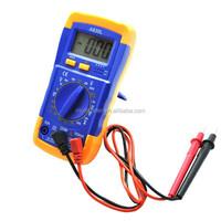 A830L Mini Hand-held Digital Multimeter Volt Ohm Amp Electrical Tester