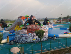 commercial hot sale amusement giant water park slide for adults and children