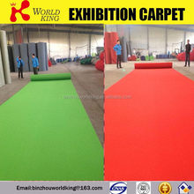 Various colors of exhibition carpet use for fair commercial wedding