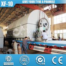 XF-10 Zero Emission Twice Dedusting Waste Tyre Pyrolysis Plant