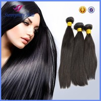 Wholesale Virgin human hair weft100% raw weave Bolivian human hair extensions