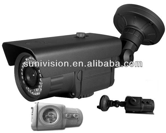 2014 hot cctv caméra CMOS 1000TVL 42 ri Leds extérieur étanche caméra accueil système de sécurité