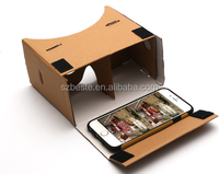 DIY google cardboard 3d video viewer