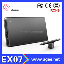 Ugee EX07 Drawing Electronic Tablets with Pen and Portable Stand