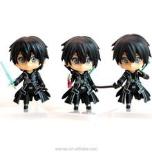 Jpan samurai figure which made by PVC