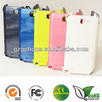 PC&PU flip cover for Samsung galaxy n7100 with UV oil coating