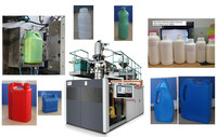 fully automatic 1L small plastic extrusion blow molding machine
