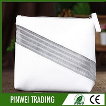 promotional travel plain makeup bag,pu cosmetic bag