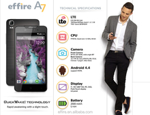 OEM Original Brand Effire A7 Android 4.4.4 Smartphone 5.0 Inch Screen MTK Octa Core 2GB Ram Cheap 4G Unlocked Phone