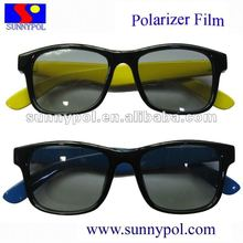 cinema and 3D TV polarized 3D glasses