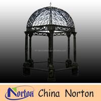 outdoor wrought cast iron gazebo NTIG-005S