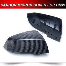 For BMW F20 F22 F30 F32 Carbon Side Mirror Rearview Cover Trim REPLACEMENT TYPE