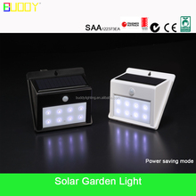 low voltage Superbright LED wall lamps solar garden spot light