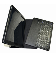 Detachable ABS Bluetooth Keyboard Leather Case Cover for iPad Pro