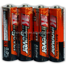 1.5v lr6 aa alkaline battery with high quality from China manufacturer