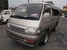 Toyota Hi-ace Hiace wrecking car without registration.(Parts use only)
