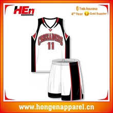 Hongen apparel custom design basketball league basketball uniform