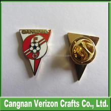 Custom Imitation Hard Enamel Lapel Pin/Emblem/Badges With Butterfly Clutch