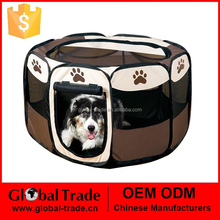 2015 New And Hot Selling Folding Pet Fence 60*35.5cm Dog Kennel Pet Fence 450088