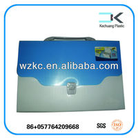 Recyclable Customized portable document plastic box files price