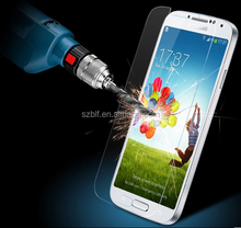 2015 Hottest 99% transparency 9H tempered glass screen protector for samsung galaxy s5