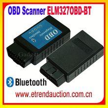 Hot Selling Products High Quality ELM 327 Bluetooth / Bluetooth ELM327 OBD2 Adaptor