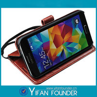 2015 Wholesale Phone Case Leather Cover For Samsung S5