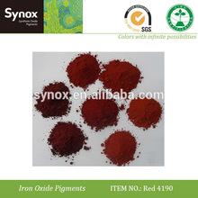 óxido de hierro rojo 4190