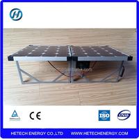 Factory direct single crystal 100w folding solar panel