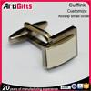 High quality cheap metal cuff links