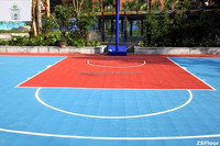 Environment-friendly portable floor plastic sports flooring used for basketball court
