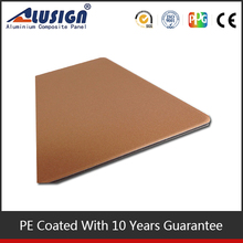 2015 wall decoration pe coated acp panel for sign board