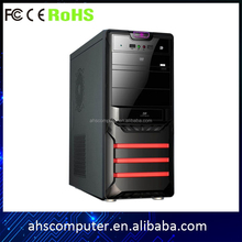New factory Micro full tower atx gaming pc case with plastic