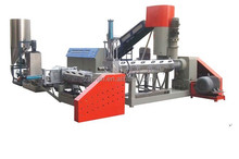 Plastic recycling extruder machine price