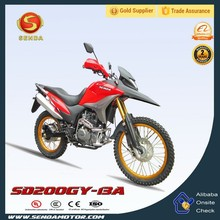 Great Quality Best Seller 200CC 4 Stroke Dirt Bike SD200GY-13A