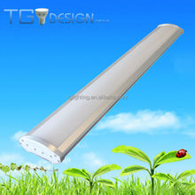 100W 10500LM IP65 linear led suspended light CE Rohs UL with IES