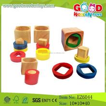 حار بيع هندسية خشبية اللعب، جزء للعب الأطفال، لعب اطفال ورضيع التعلم
