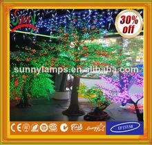 2014-alta simulación LED iluminado árbol frutal con el CE ROHS GS BS UL SAA