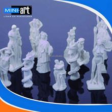 DIY hut building sand table landscape model matrial sculpture big 10 pcs/lot